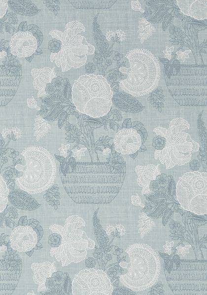 Thibaut Tullamore Wallpaper in Light Blue